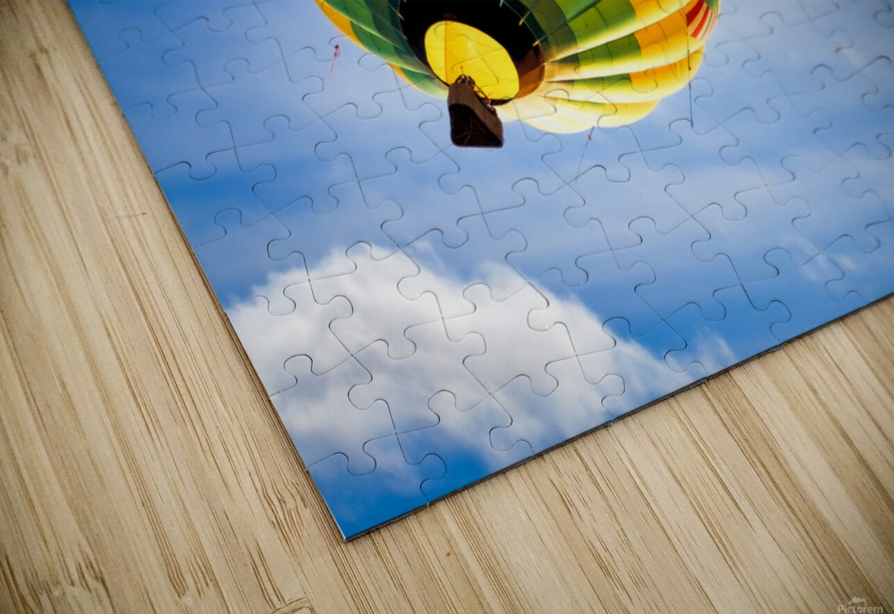 Going Up HD Sublimation Metal print