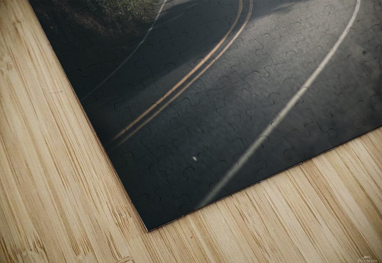 Pacific Coast Highway Mist HD Sublimation Metal print