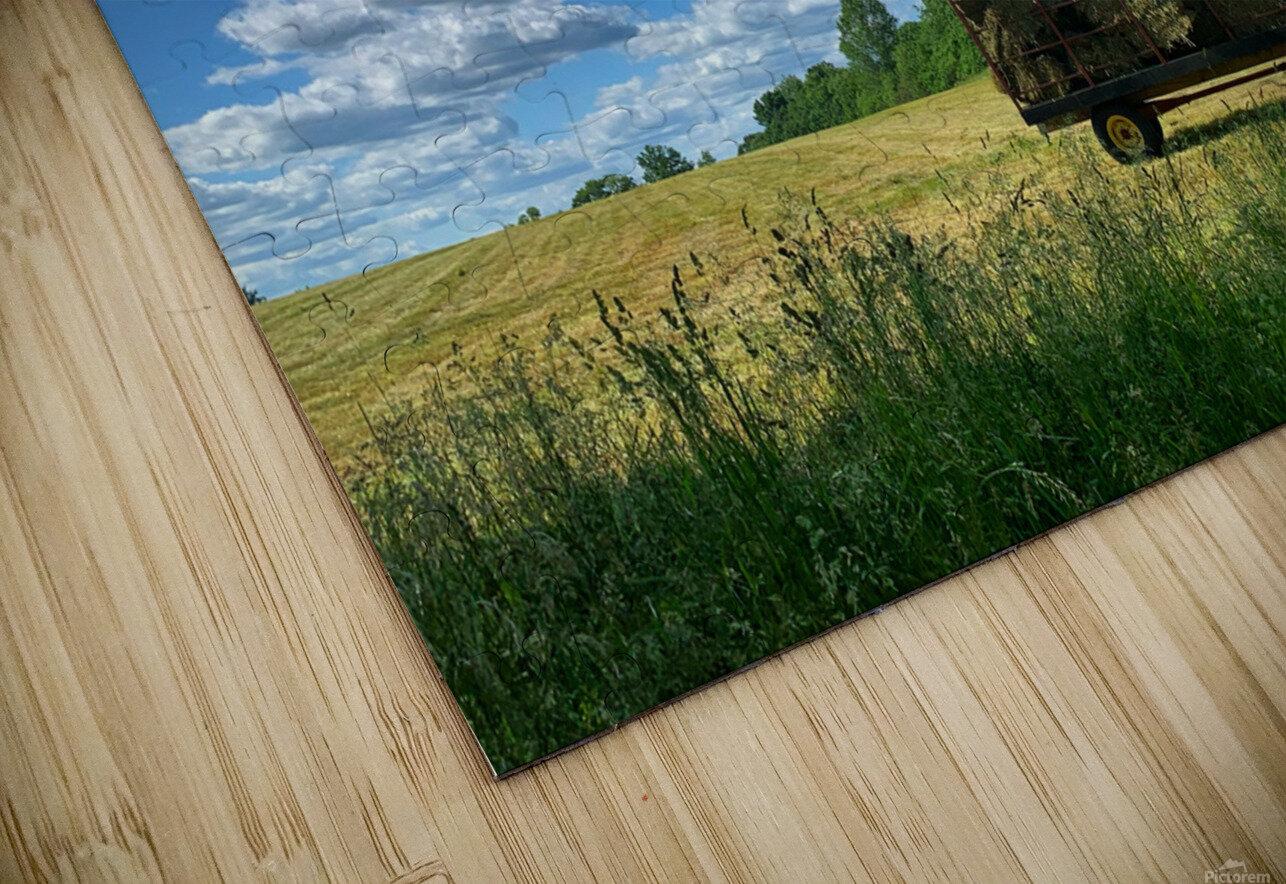 Farm Life  HD Sublimation Metal print