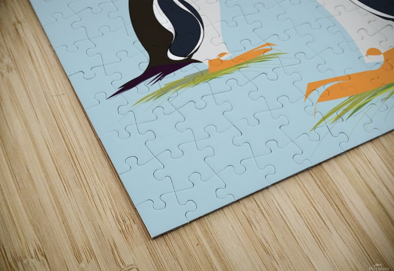 Gento Penguin HD Sublimation Metal print