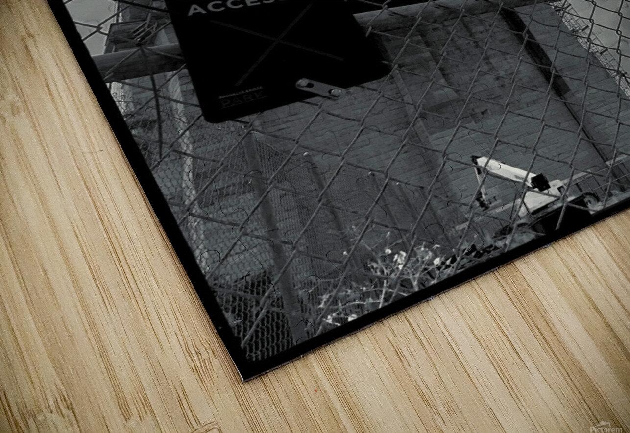Do Not Enter HD Sublimation Metal print