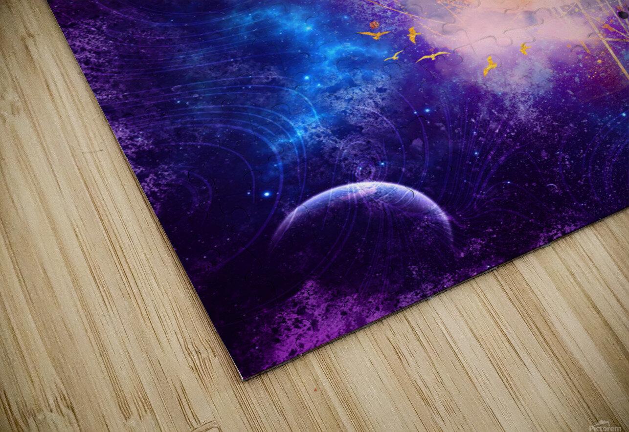 Dream Art XVIII - Cosmic World HD Sublimation Metal print