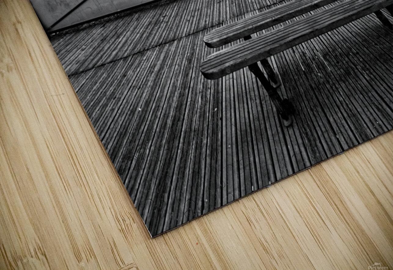 Wooden landscape Impression de sublimation métal HD