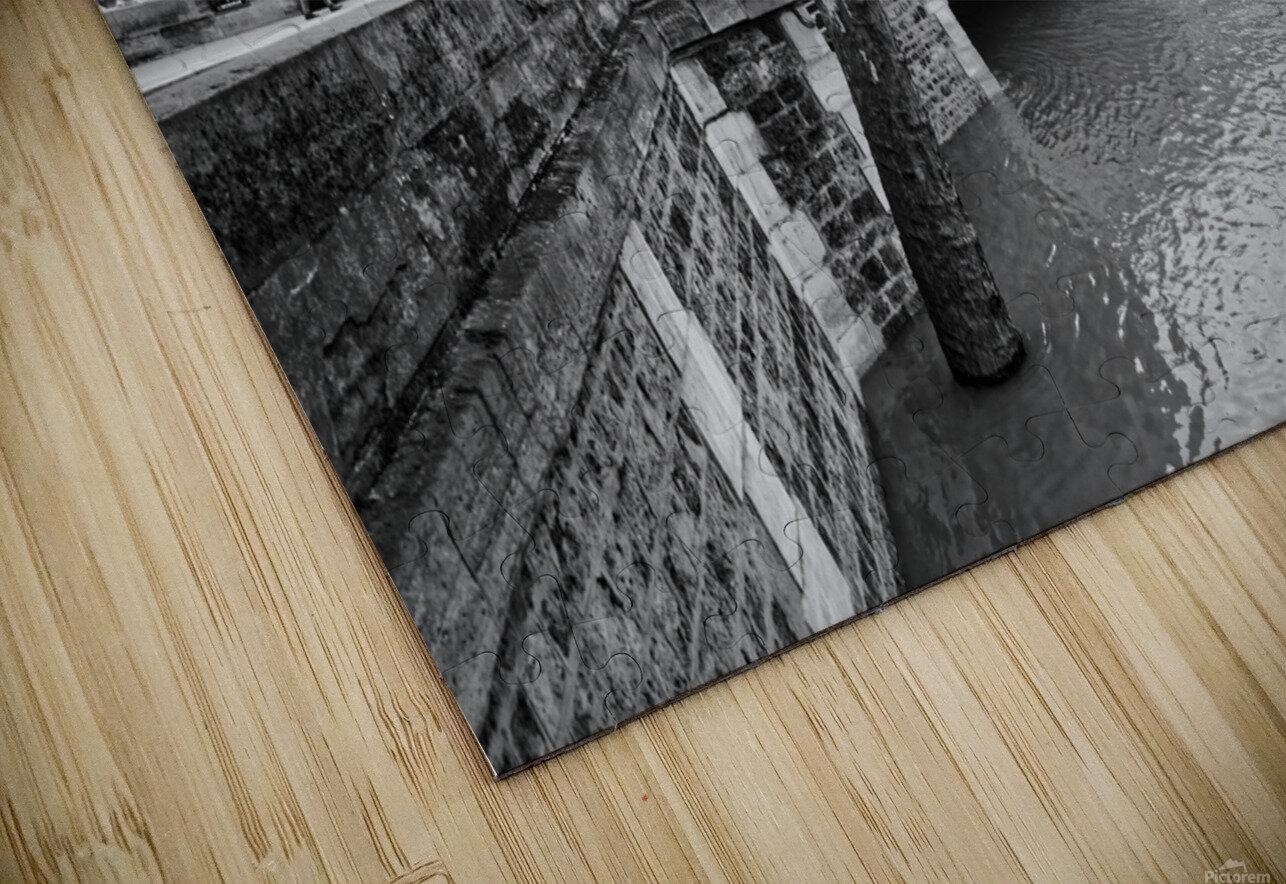 Seine river flood Impression de sublimation métal HD
