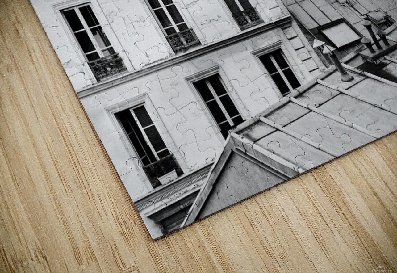 Roofs of Paris  Impression de sublimation métal HD
