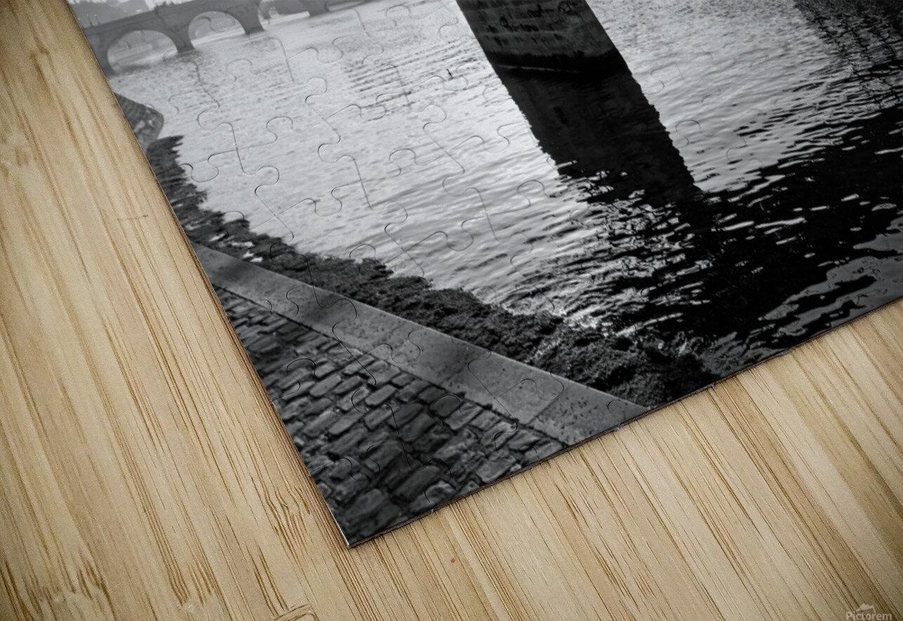 Pont des arts sunrise Impression de sublimation métal HD