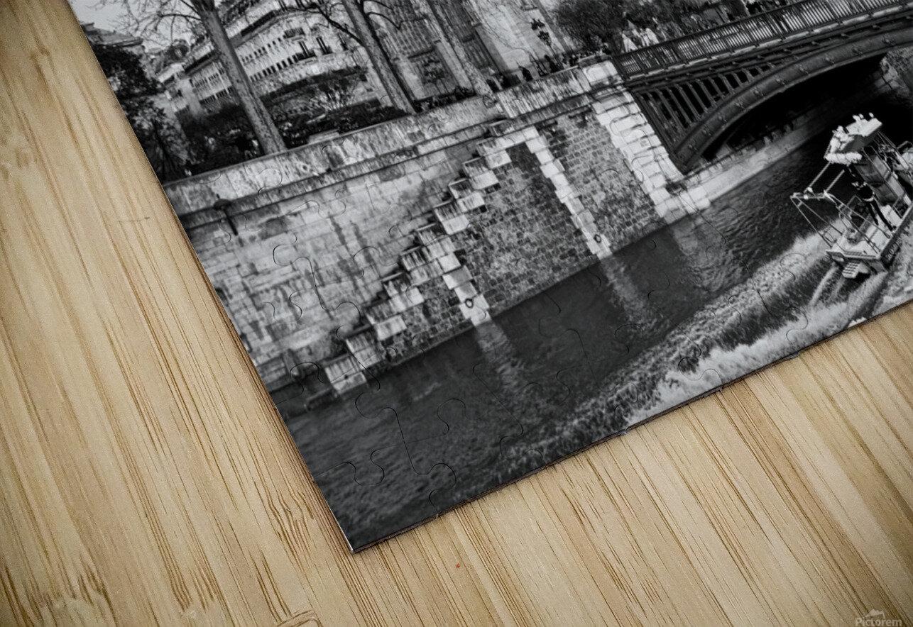 Parisian river police Impression de sublimation métal HD
