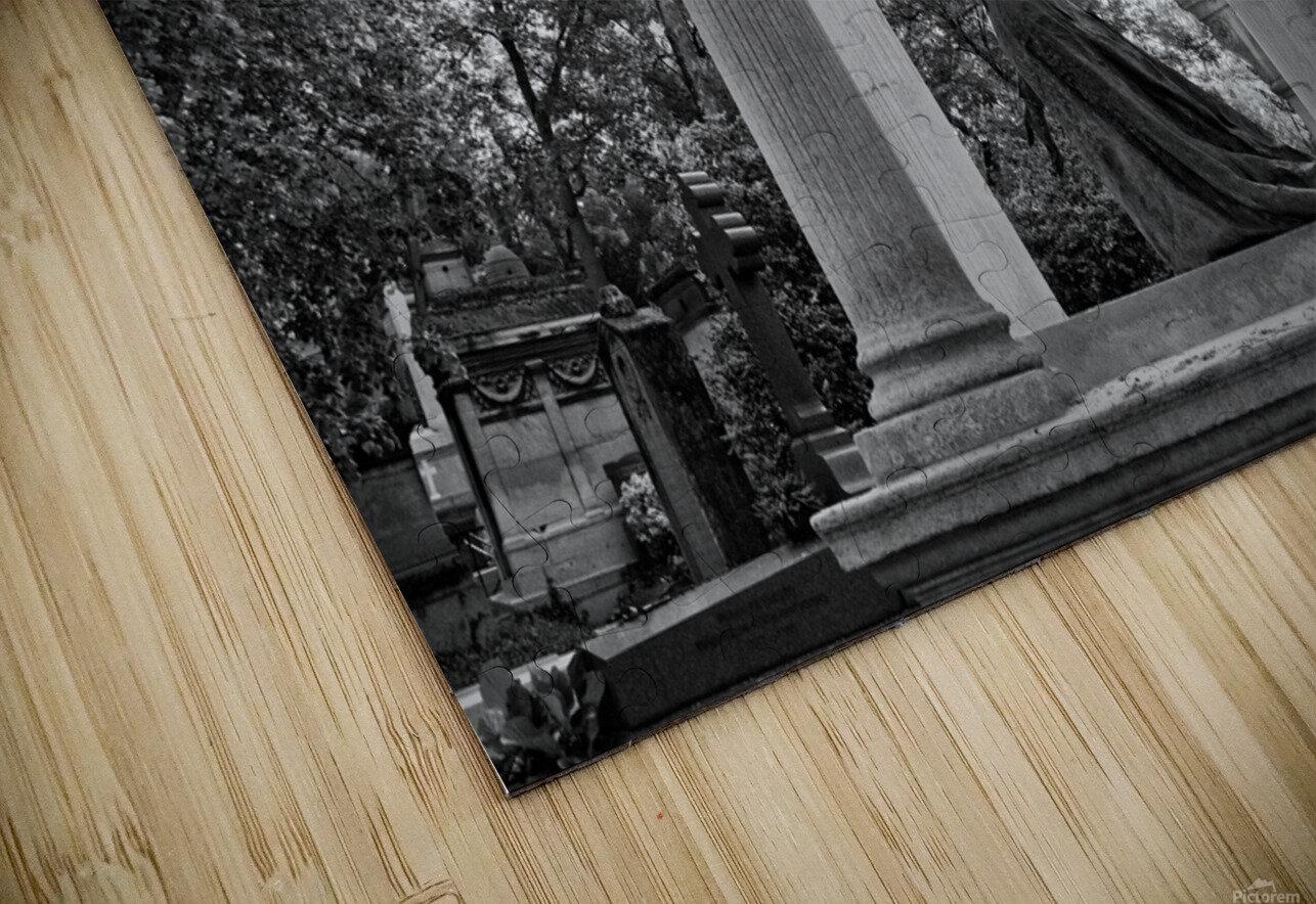 Graveyard lady Impression de sublimation métal HD