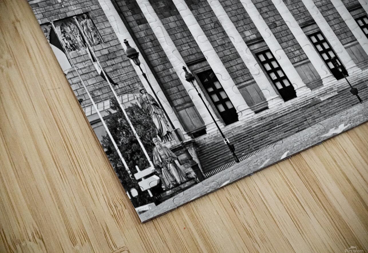 Bourbon palace Impression de sublimation métal HD