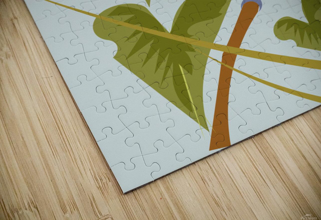 Toucanish HD Sublimation Metal print