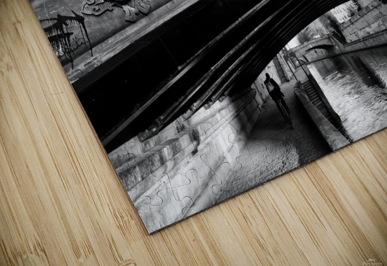Pont au Double Impression de sublimation métal HD
