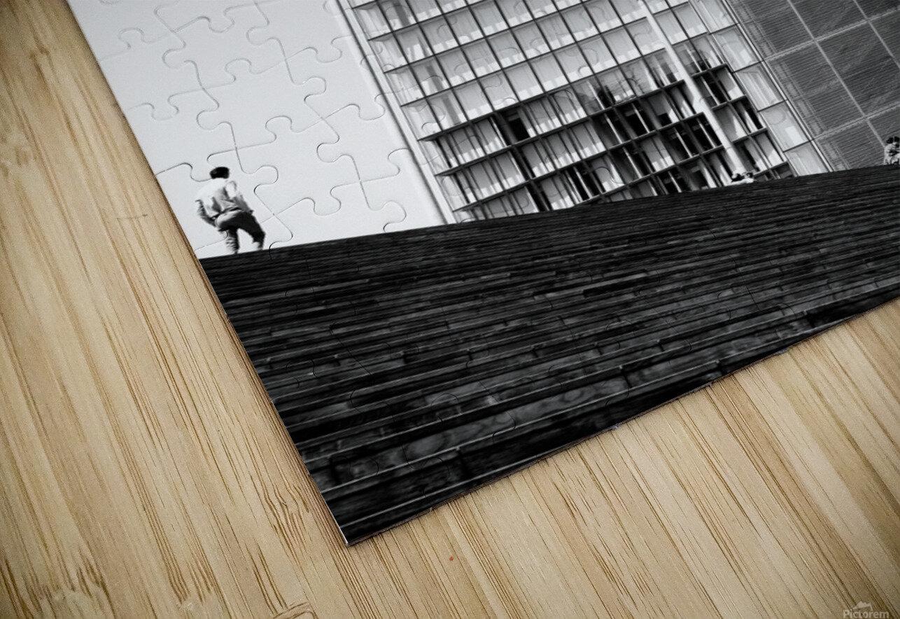 Knowledge Stairs  Impression de sublimation métal HD