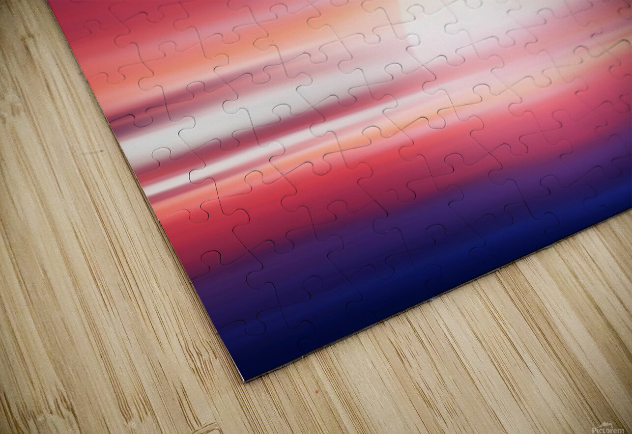Abstract Movement XVII HD Sublimation Metal print