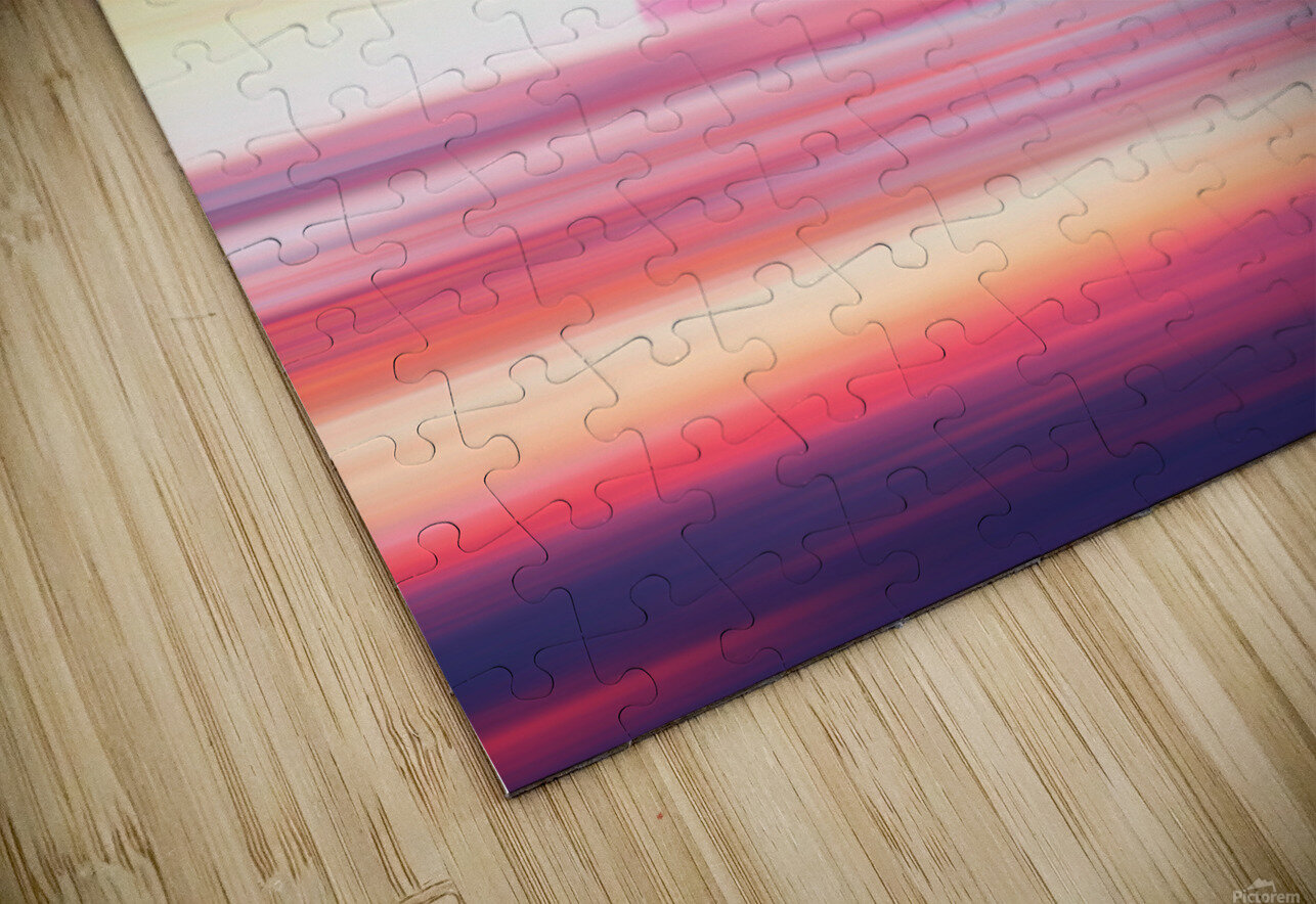 Abstract Movement XIX HD Sublimation Metal print
