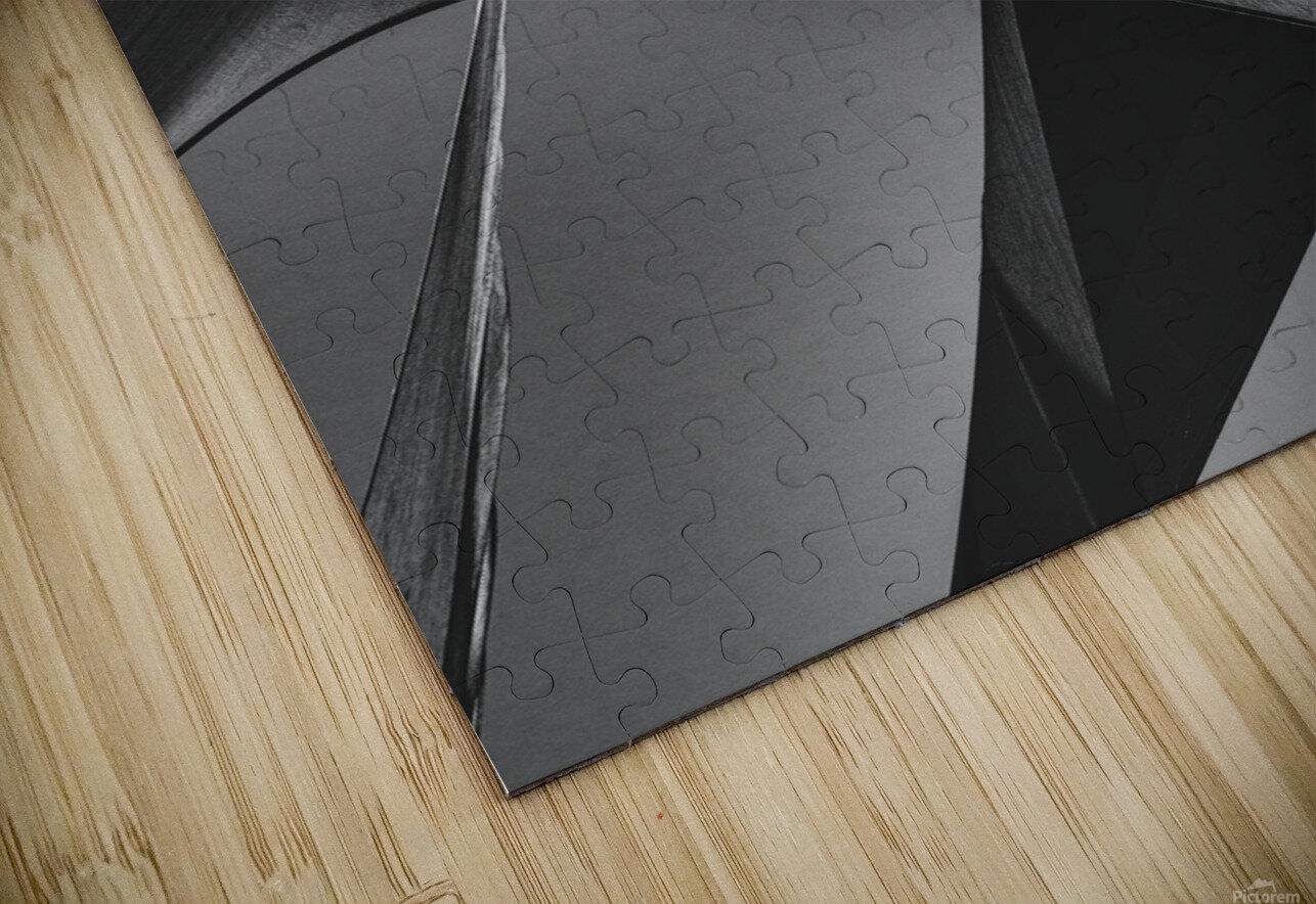 Abstract Sailcloth 16 HD Sublimation Metal print