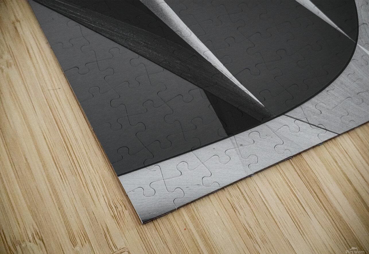 Abstract Sailcloth 10 HD Sublimation Metal print