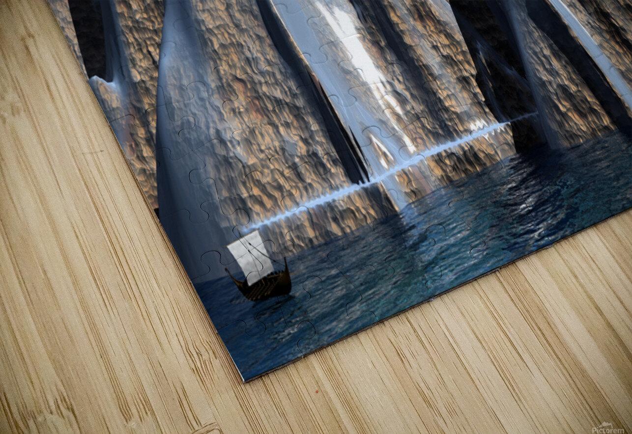 L antre d Odin HD Sublimation Metal print