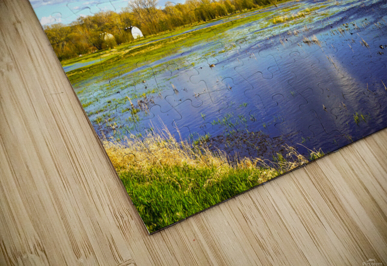 Beautiful Day at the Estuary HD Sublimation Metal print