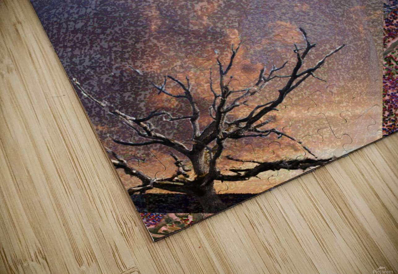 Tree Layers 5 HD Sublimation Metal print