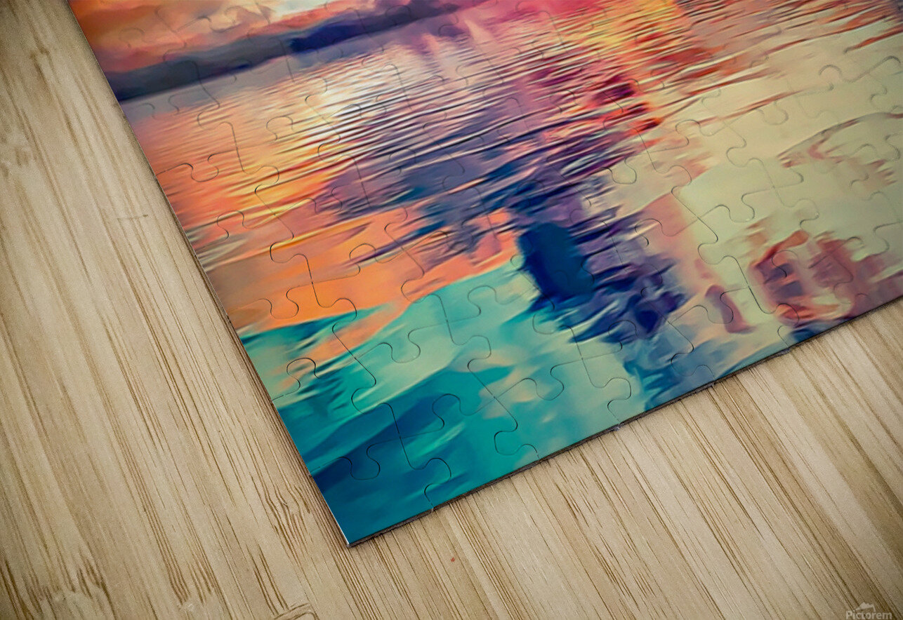 Painted Sky HD Sublimation Metal print