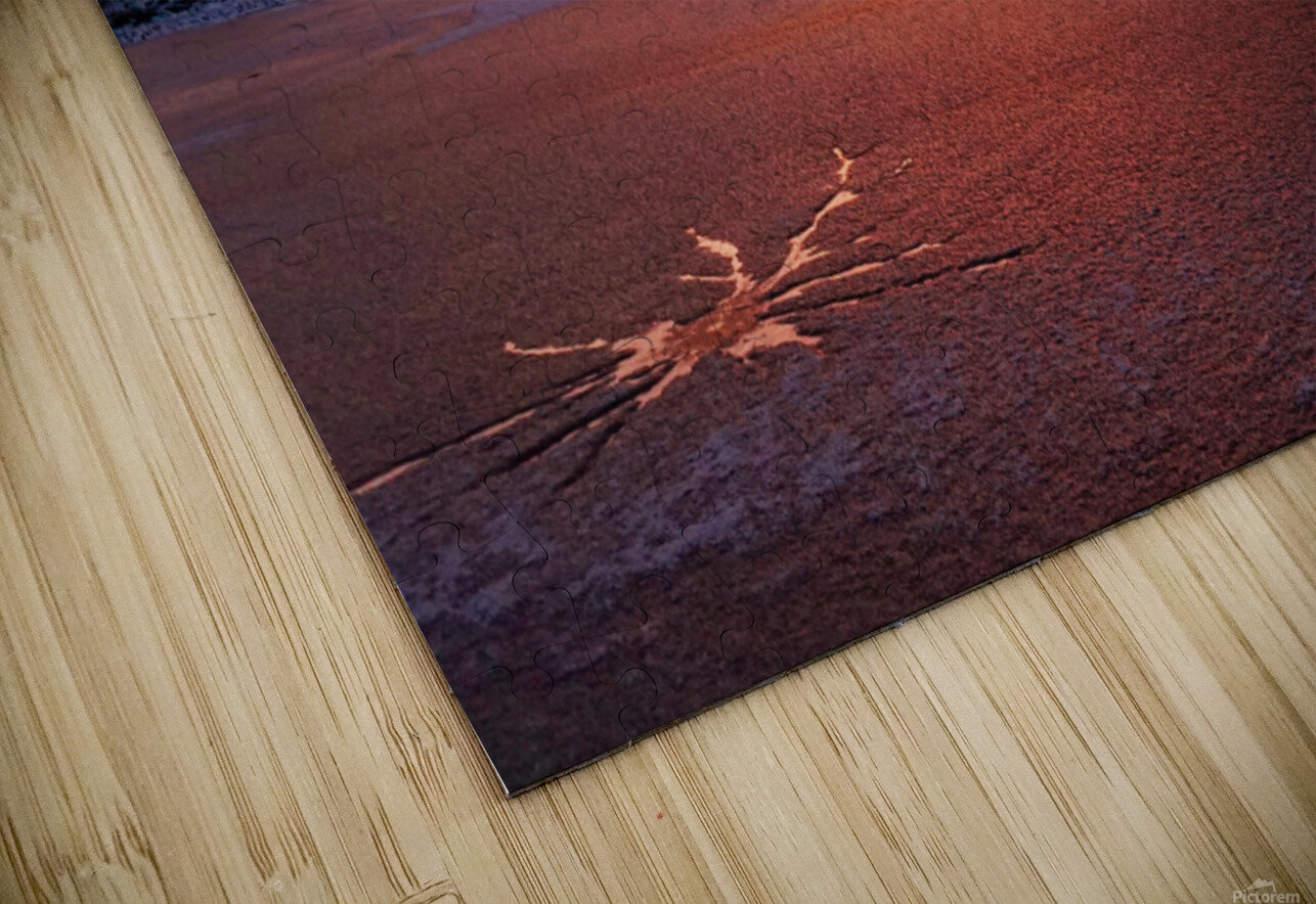 Scenic Fiery North Shore Sunset HD Sublimation Metal print