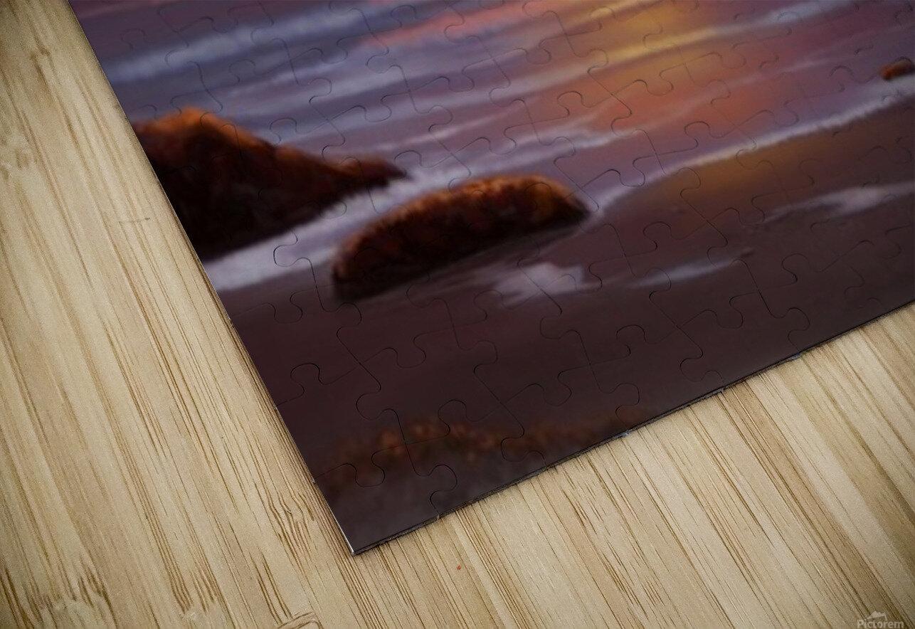 Blazing Skies HD Sublimation Metal print