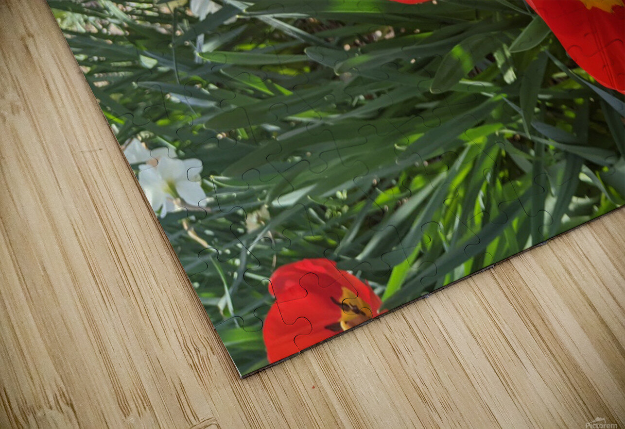 The Flower Family HD Sublimation Metal print