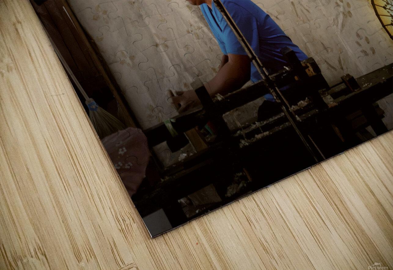 Umbrella maker HD Sublimation Metal print