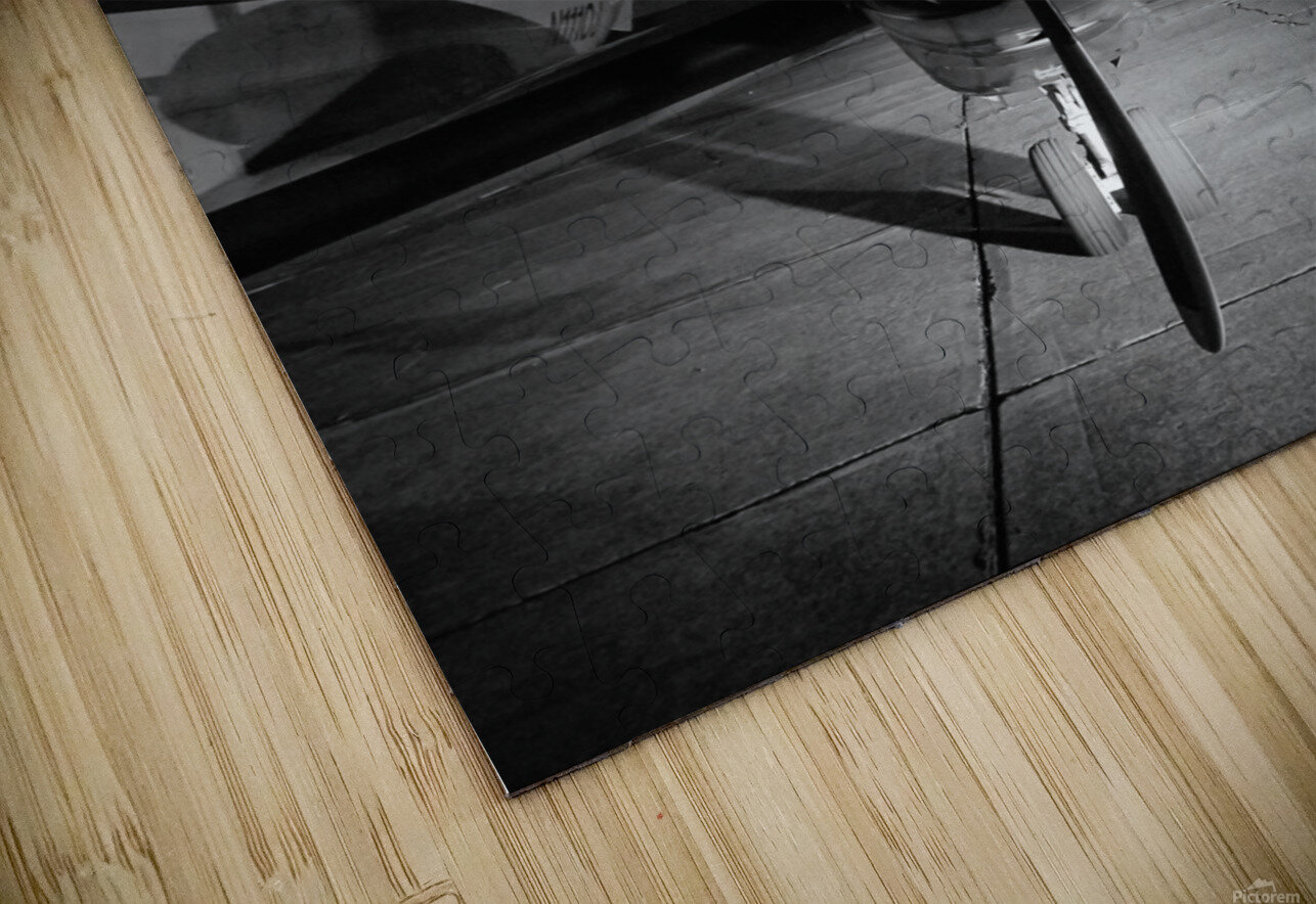 Turbo Prop HD Sublimation Metal print