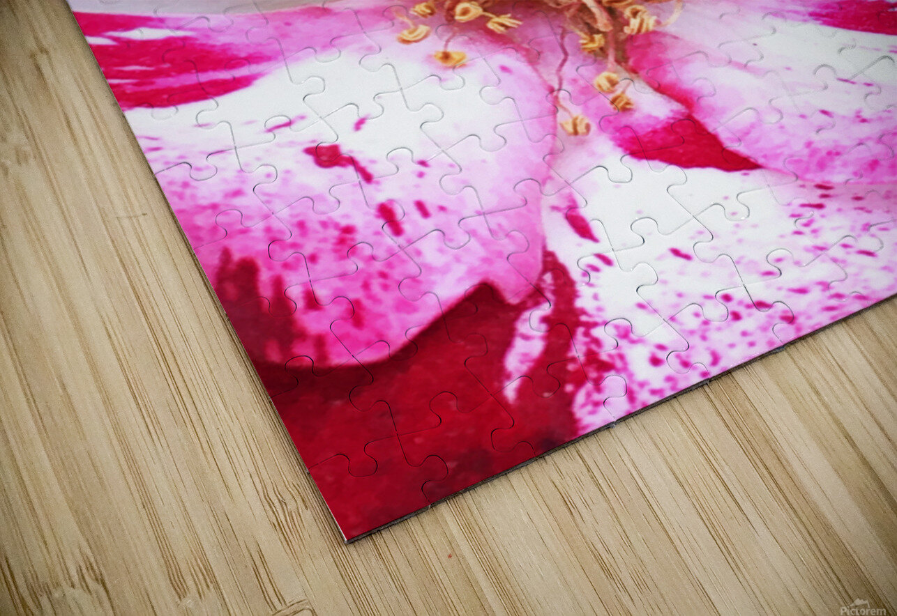 Red Wave HD Sublimation Metal print