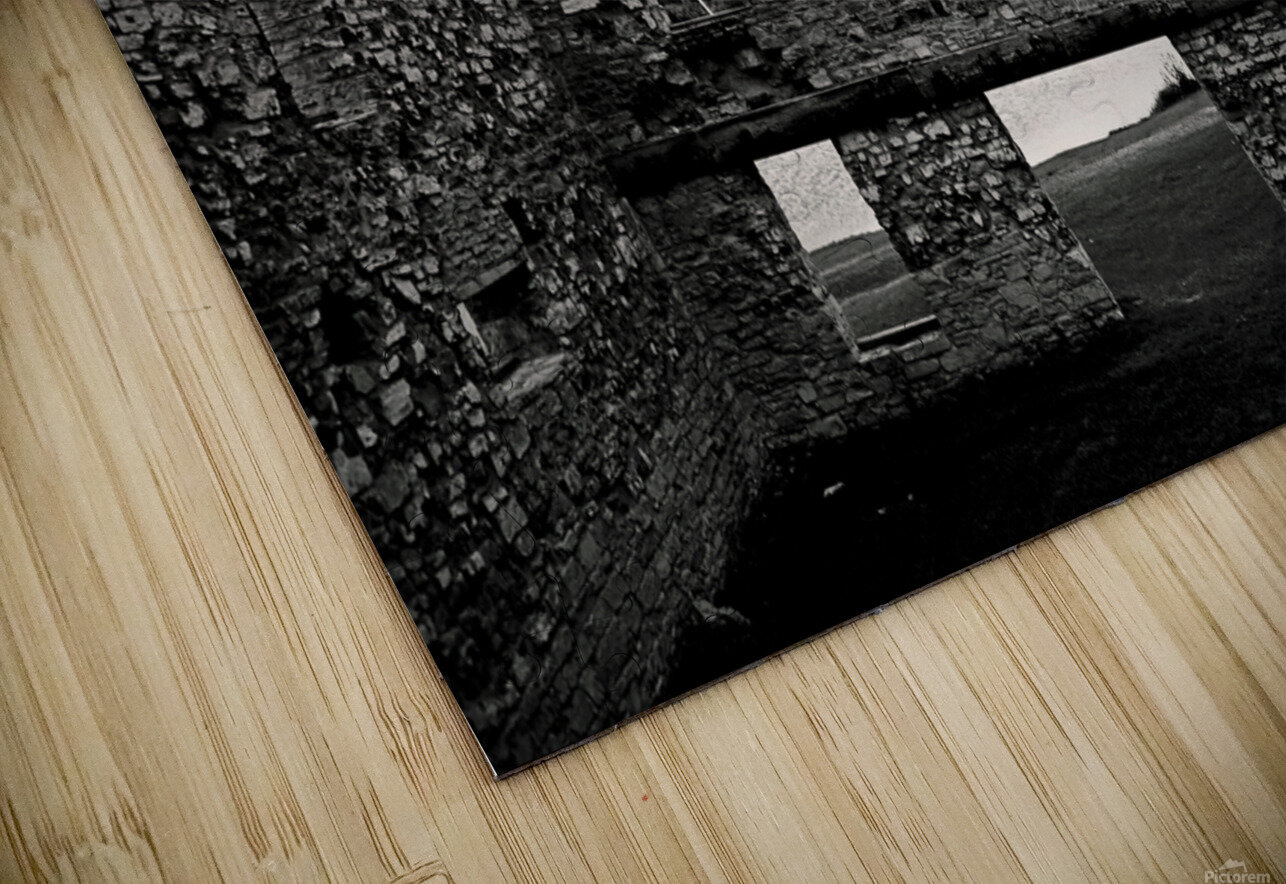 Stone Structure HD Sublimation Metal print