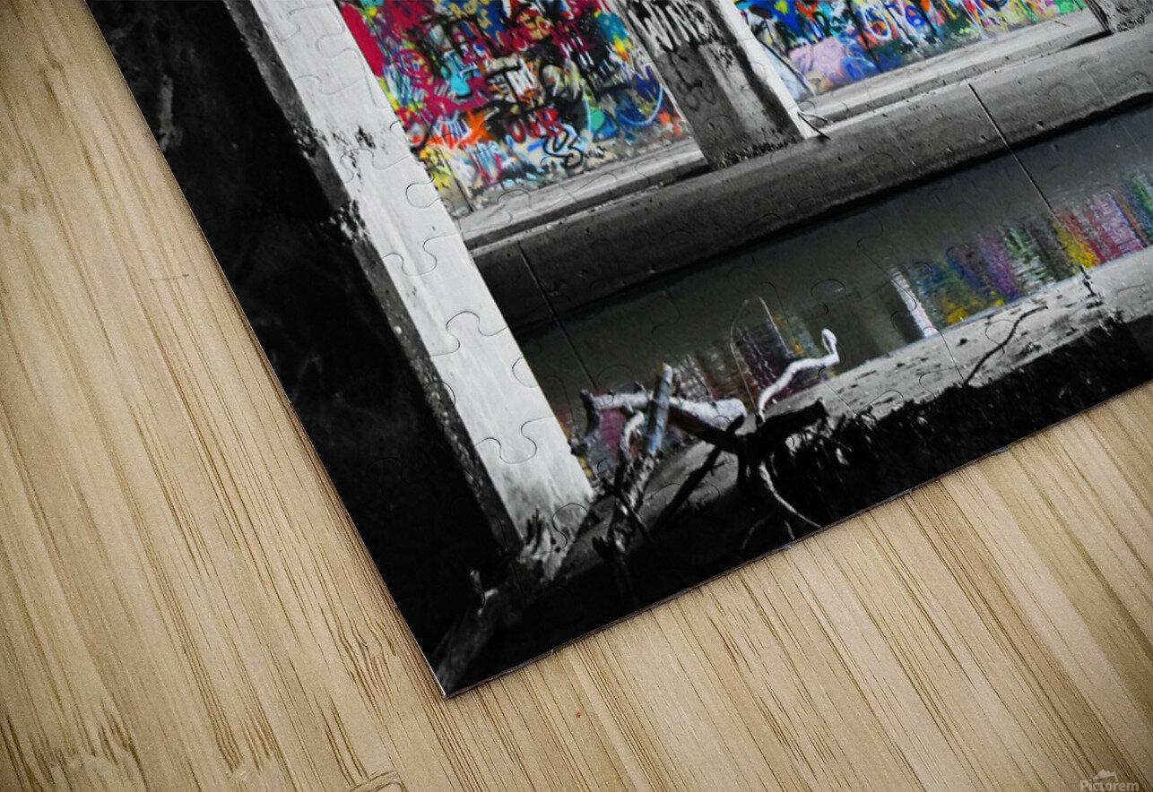 Graffiti Bridge HD Sublimation Metal print