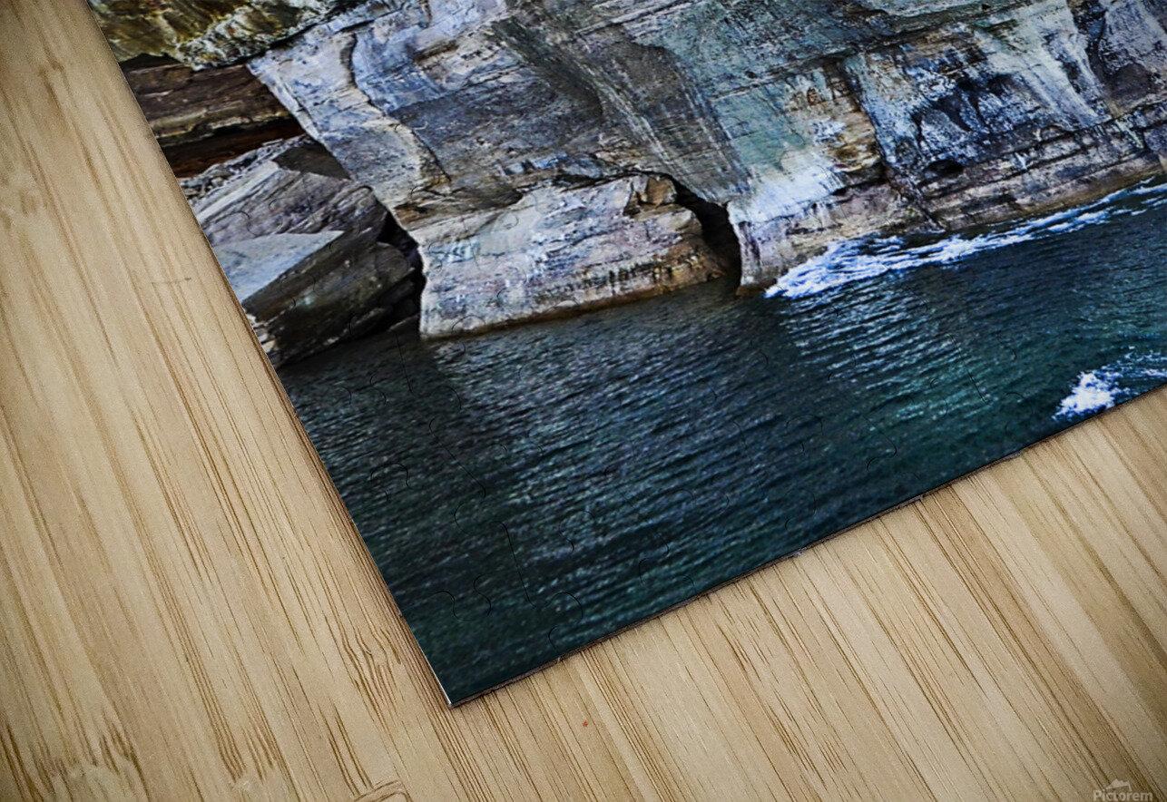 Blue Face HD Sublimation Metal print