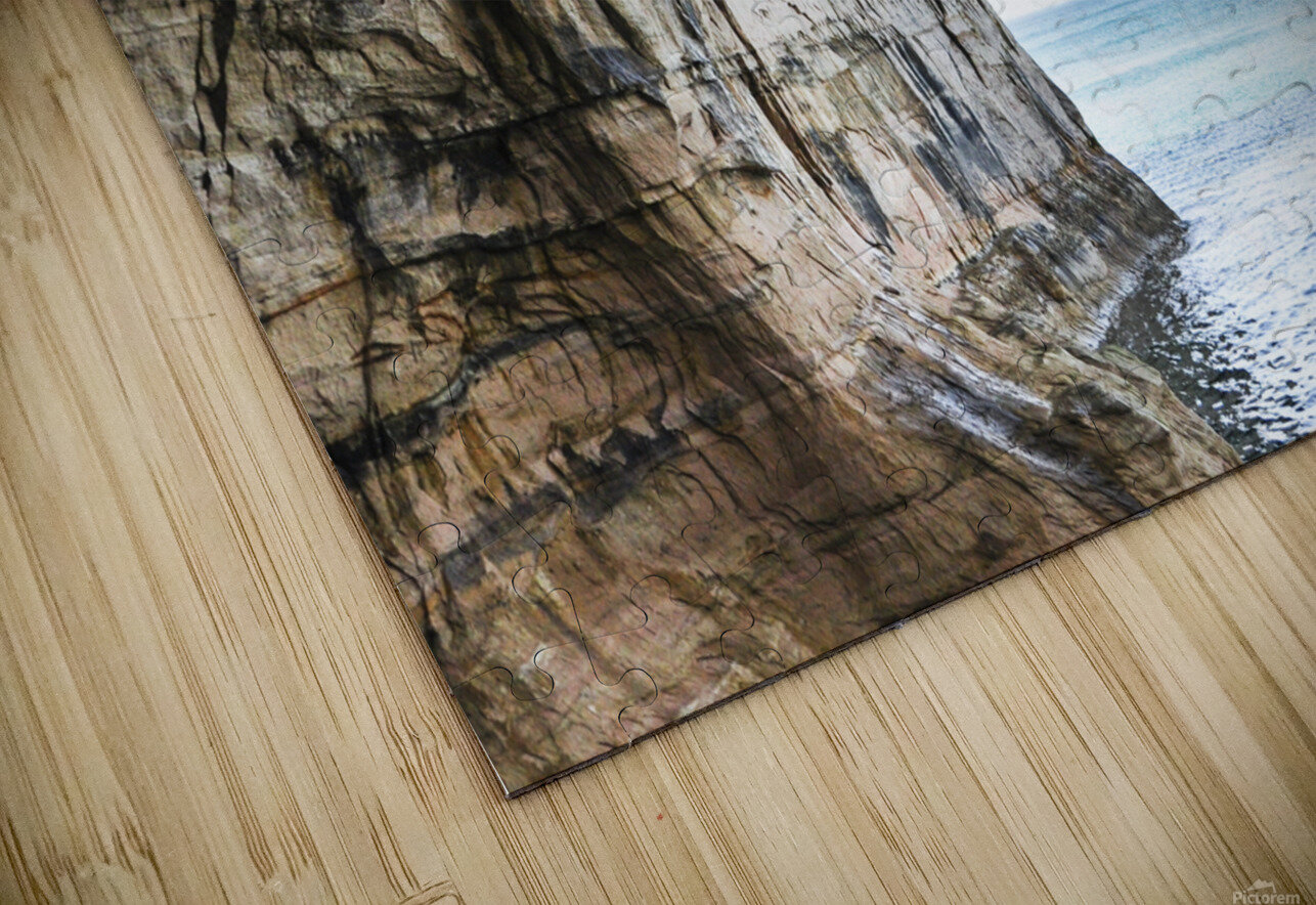 Land Meets Water HD Sublimation Metal print