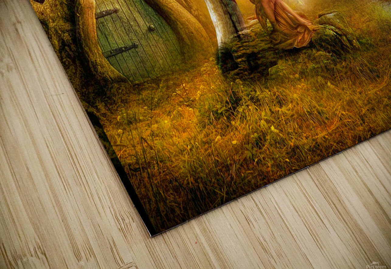 Fairy Ring HD Sublimation Metal print