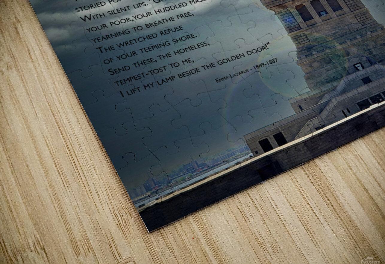New Colossus HD Sublimation Metal print