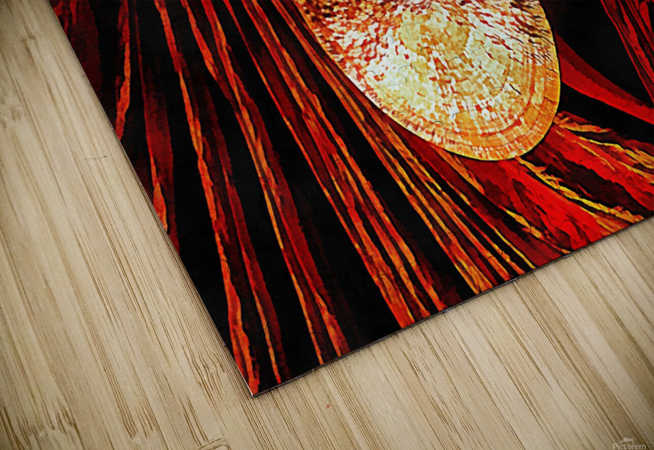 Energy Of Gongs HD Sublimation Metal print