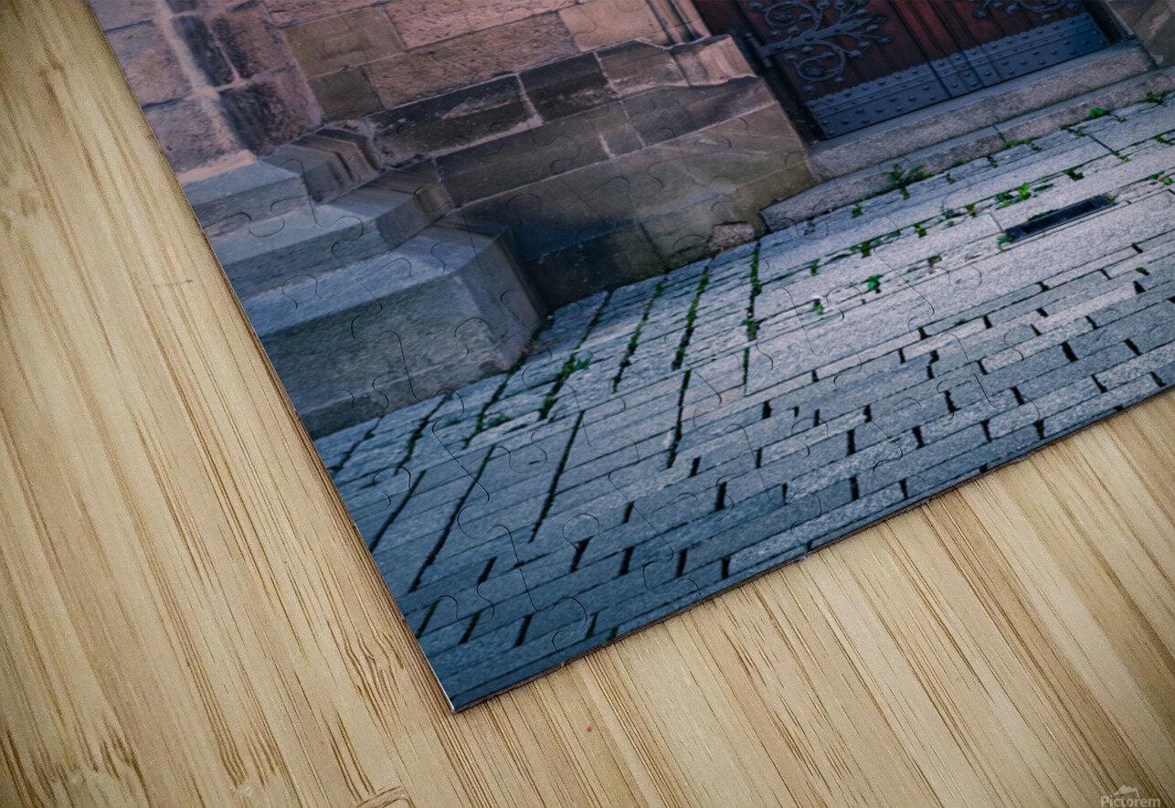 Gothic entrance HD Sublimation Metal print
