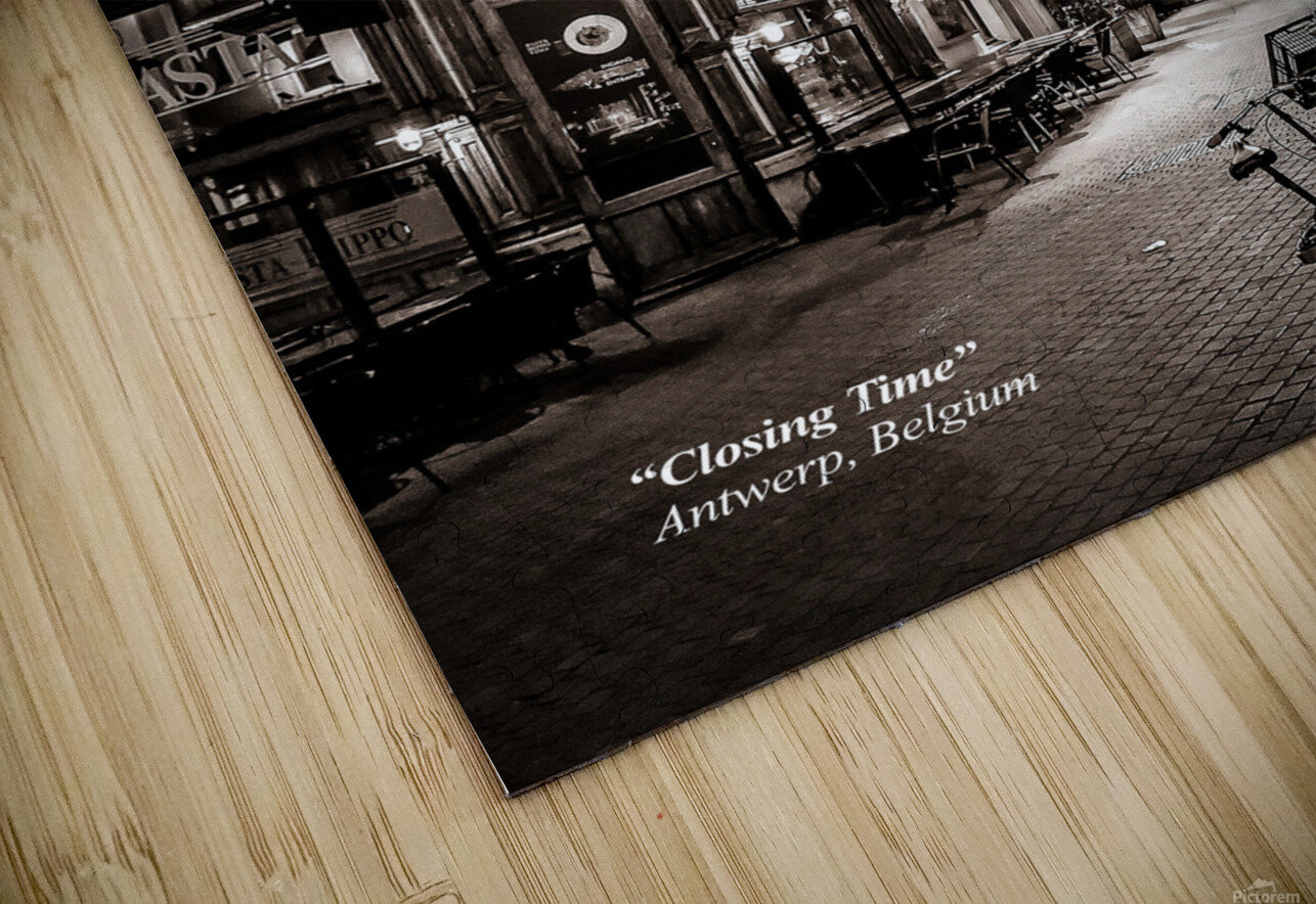 Closing Time HD Sublimation Metal print