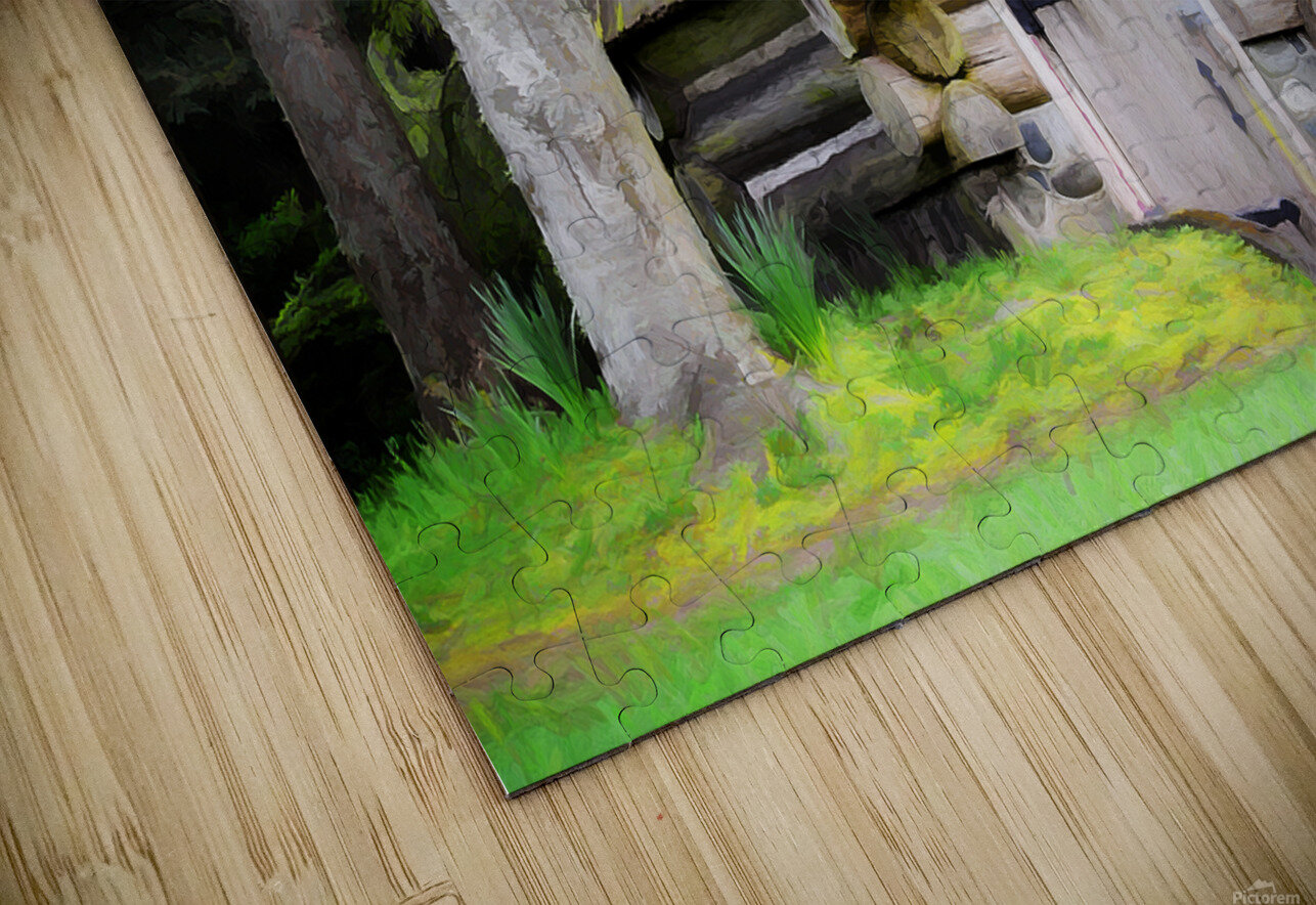 Old Root House HD Sublimation Metal print