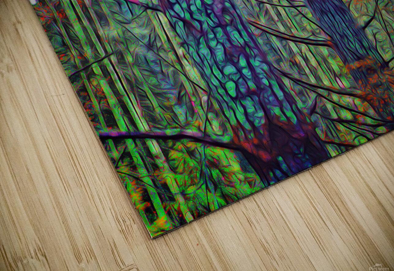 Forest Splendor HD Sublimation Metal print