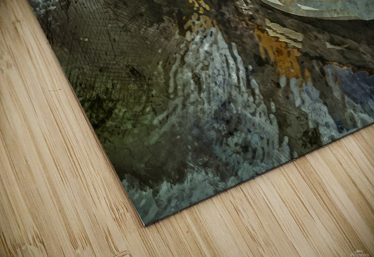 Rowboat HD Sublimation Metal print