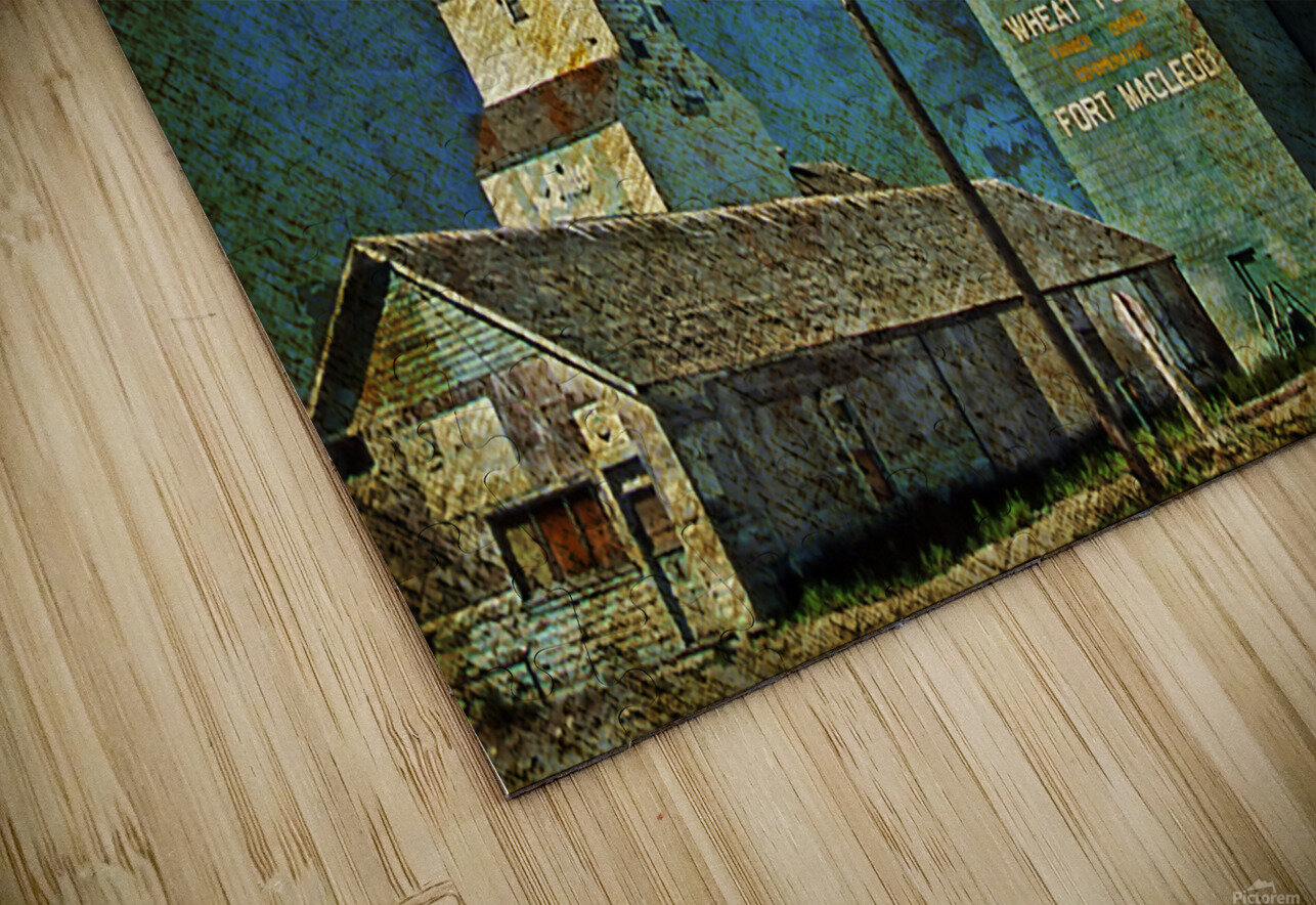 Wheat Pool HD Sublimation Metal print