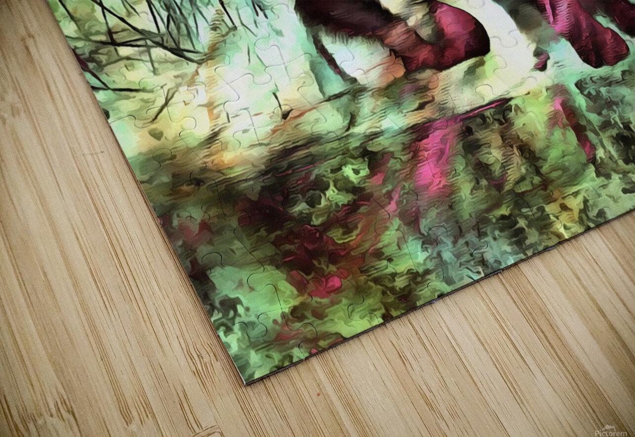Cat Spirit HD Sublimation Metal print