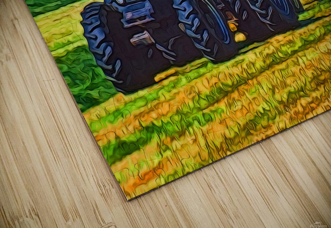 Making Hay HD Sublimation Metal print