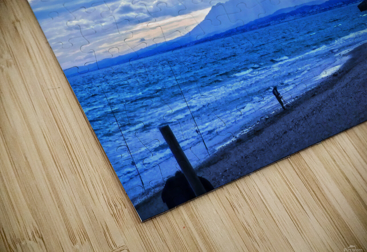 Gone Fishing  Costa Del Sol  Spain 1 of 2 HD Sublimation Metal print