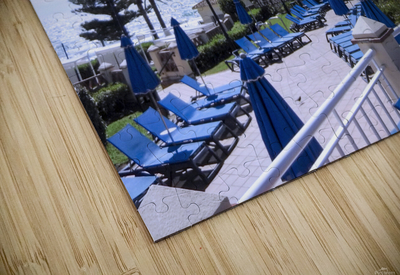 Costa del Sol Andalusia Spain 3 of 4 HD Sublimation Metal print