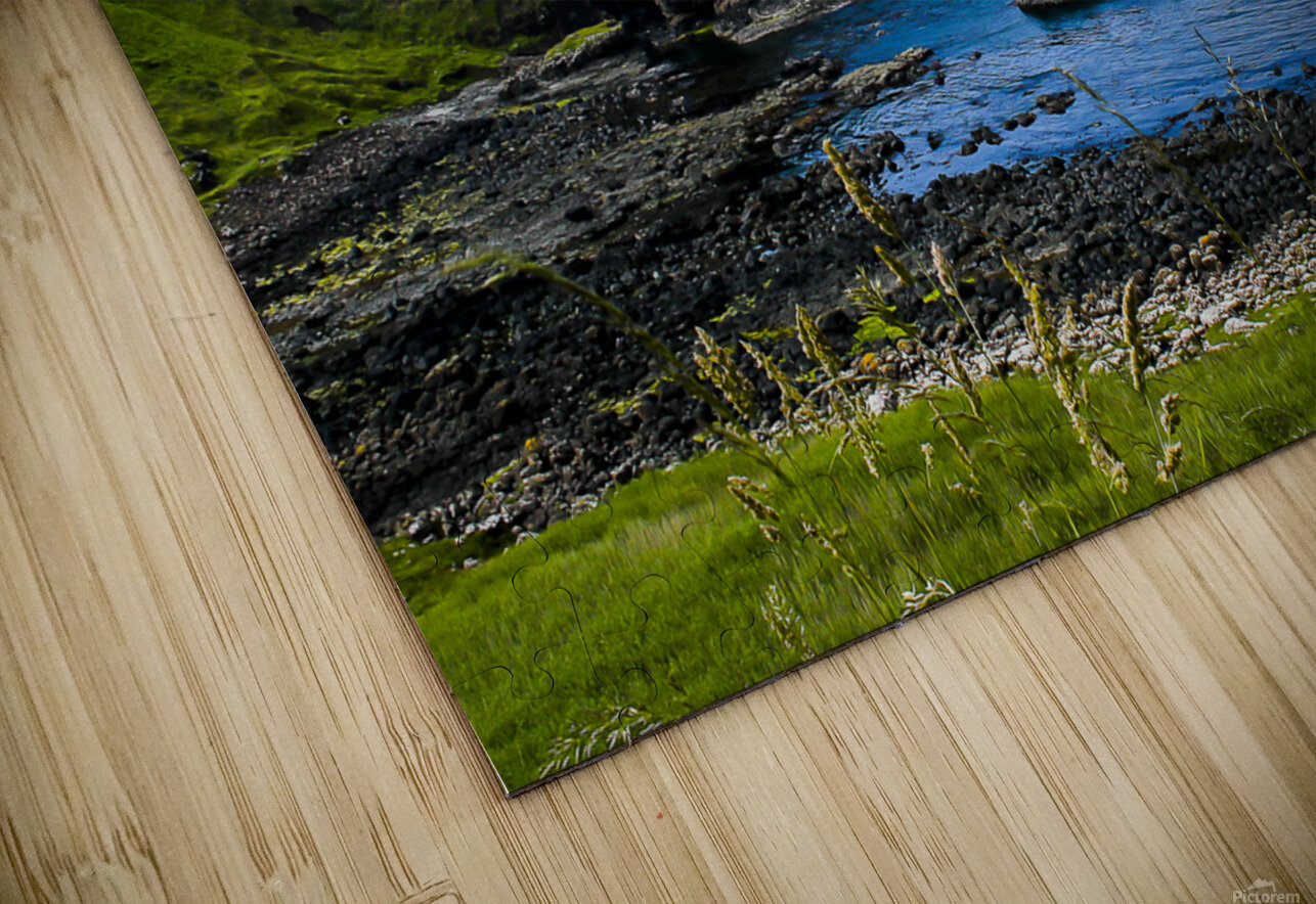 Northern Ireland Coast View II HD Sublimation Metal print