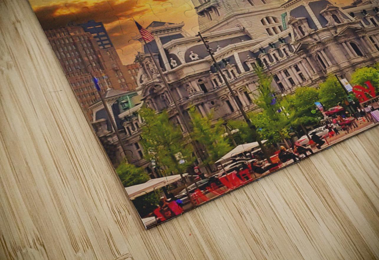 Philadelphia City Hall HD Sublimation Metal print