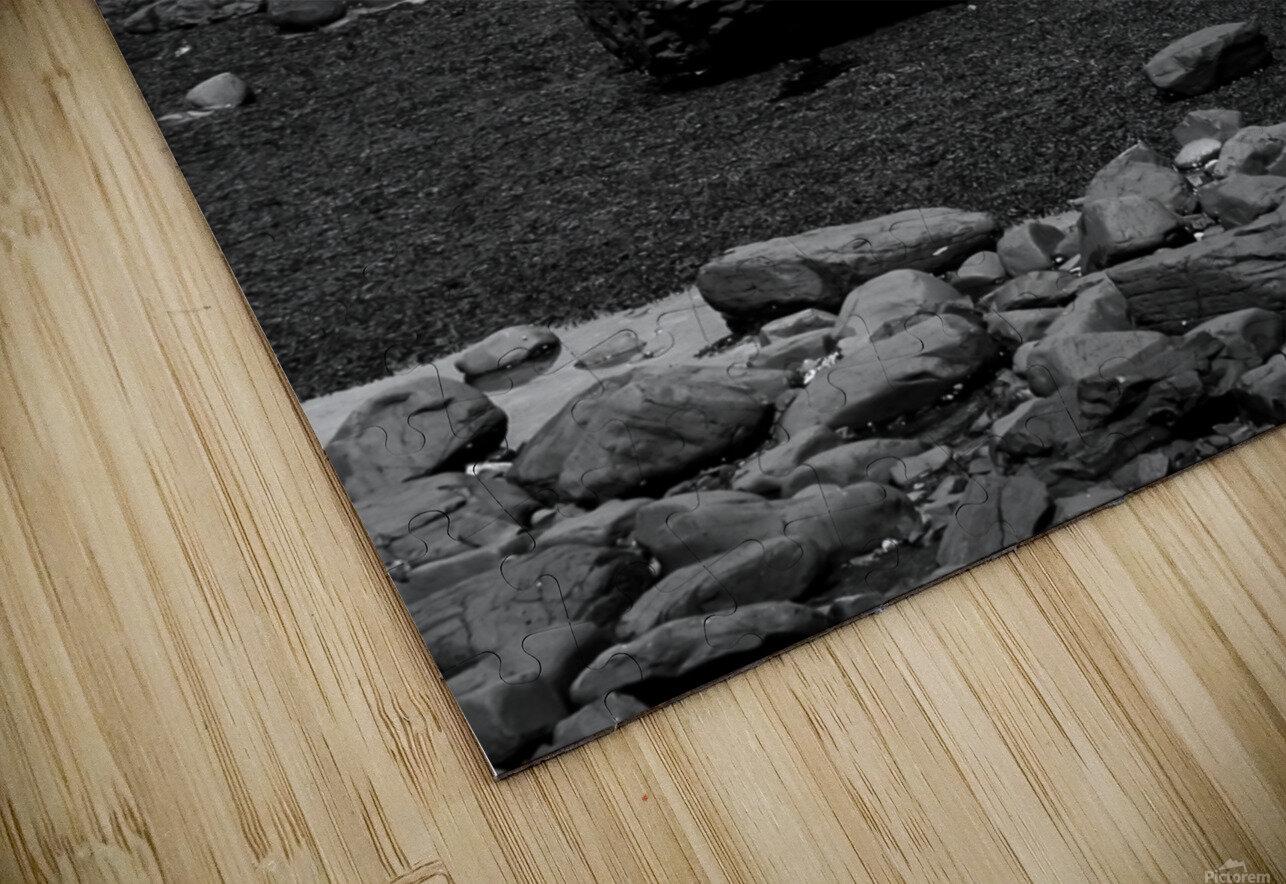 Sea and Rocks HD Sublimation Metal print